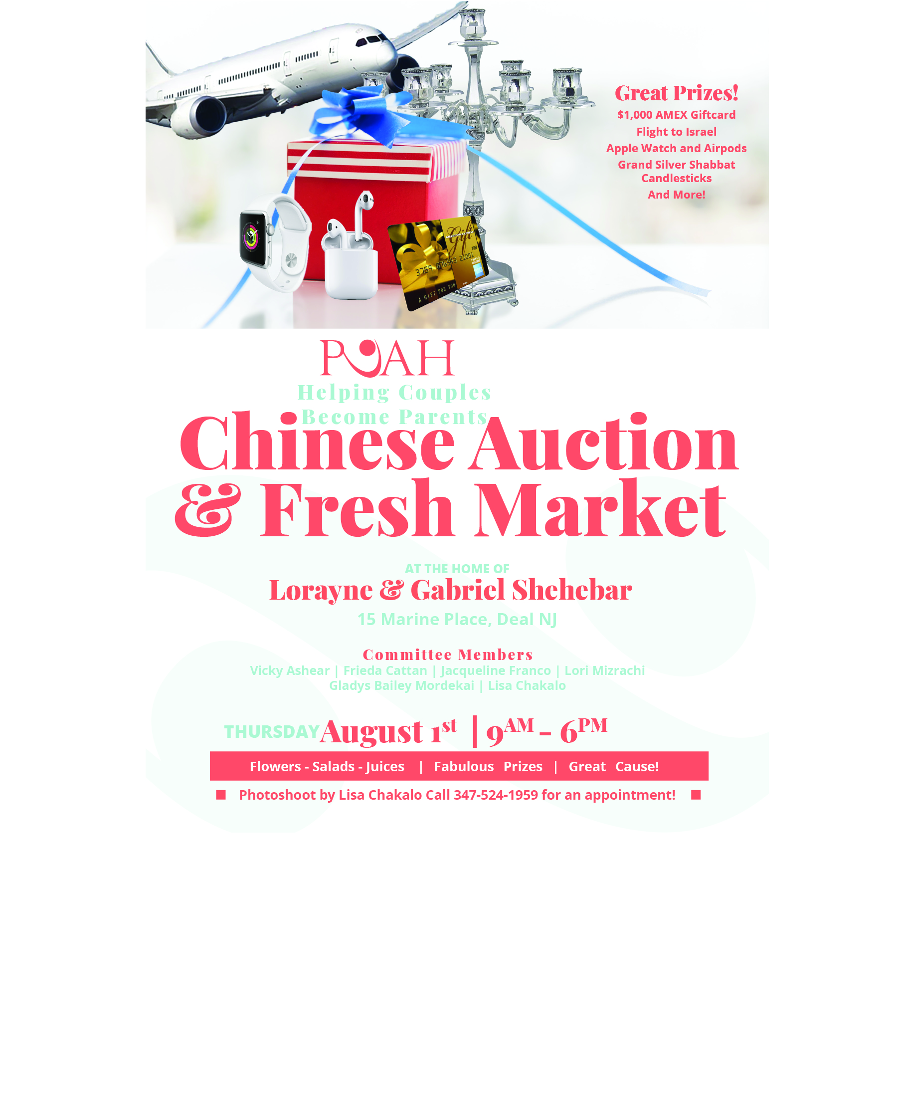 Chinese Auction and Fresh Market