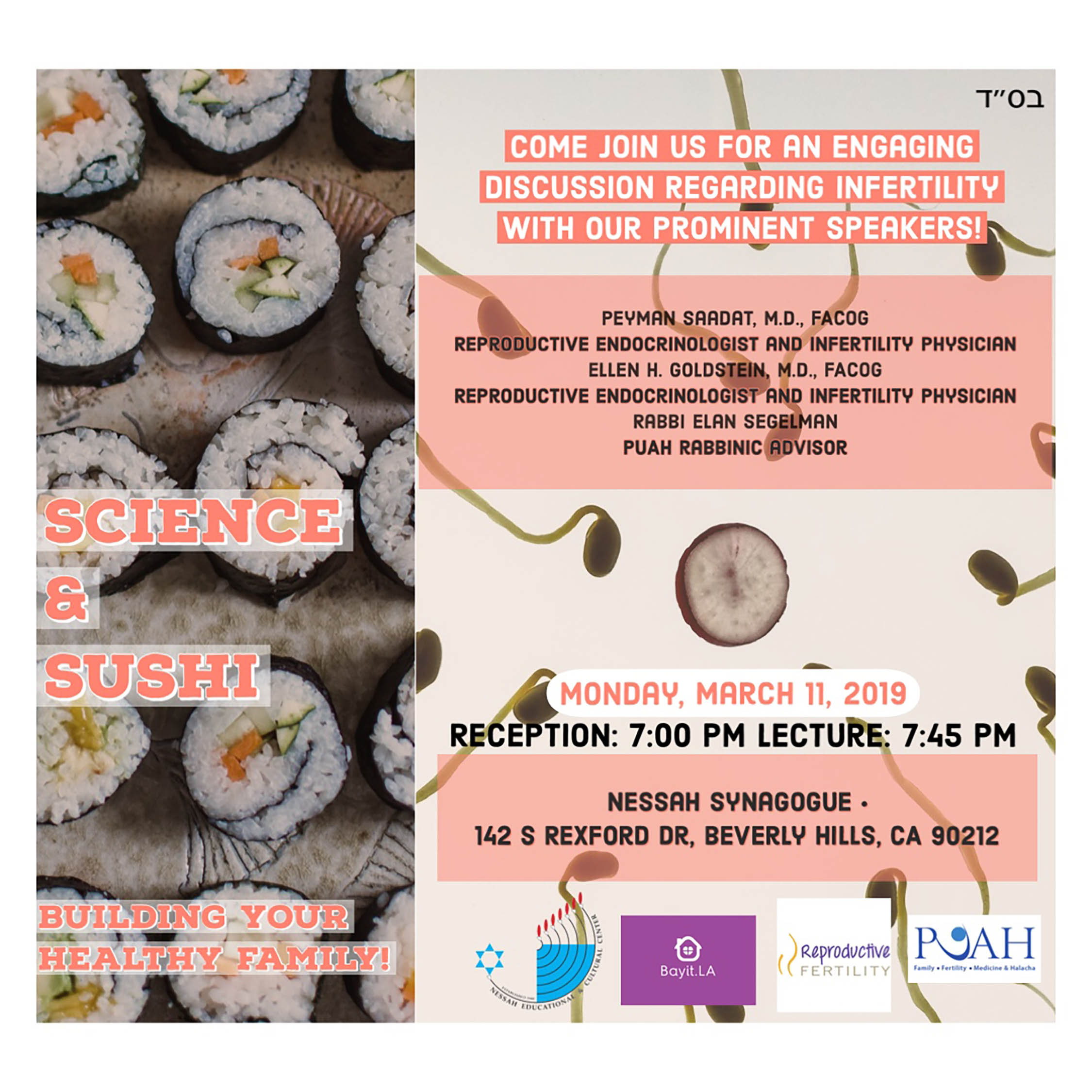 Science & Sushi!